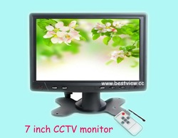 Professional 7 inch lcd car monitor with 16:9 touch panel(China (Mainland))