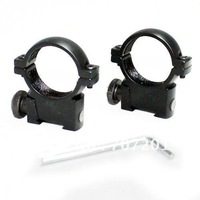 Promotion!!! Alloy Scope Mounting Rings Mounts 25.4mm Dia 11mm Rail