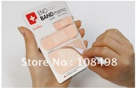 2011 new fashion stationery band shape notepad/whole sale 50PCS/lot/memo pad/novelty notebook/60pages/pc/free shipping