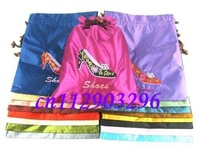 Free shipping! WHOLESALE 10PC CHINESE EMBROIDERY SILK CLOTH SHOE BAGS pocket for dustbag