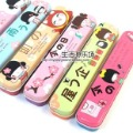 10pcs/lot- Stationery box,Japanese Dolls pen box,Tin pencil box,bag