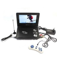 "7.5"" PORTABLE DVD VCD PLAYER MP3 MP4 TV GAME MPEG4 NEW  DHL.EMS.FedEx"