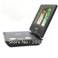 7.5 inch TFT LCD Portable DVD Player Audio Video VCD CD TV Photo Game MP3 MP4  DHL.EMS.FedEx