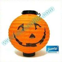 Free shipping wholesale 10pcs/lot foldable pumpkin Halloween lantern light