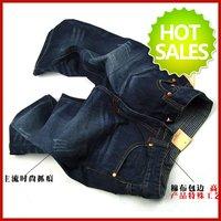 Hot Sale men's brand denim shorts jeans for man wholesale high quality jean short pants free shipping blue W28 - W38 MJ017