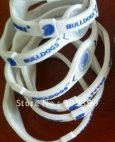 Hot selling gifts! Drake University/Bulldogs/energy bracelet 100pcs/lot free shipping by DHL