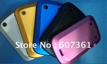 Wholesale - Metal hard case Alloy aluminum cover silicone case for BB9900 new arrival