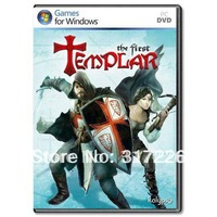 Freeshipping Wholesale pc game First Templar Multi-language old pc games, not online
