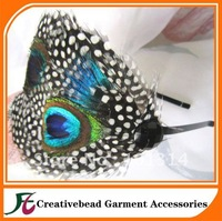 hot sell fashion feather headband+Free Shipping +20pcs/bag