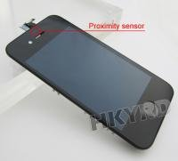 LCD Touch Screen Glass Display Assembly for iPhone 4G Black BA019
