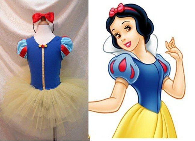 Baby  girls' dress kids TUTU skirt ballet skirt Snow White princess short  sleeve Girl one piece girls dresses 1012B