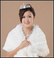 G352 Free shipping RHINESTONE Bridal band/clip BIG re shape CROWN Tiara Bridal Wedding Party JEWELRY
