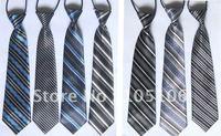 Teenager Stripe Ties Children Tie Child Necktie For Boys Girls  Baby Scarf With Rubber Band  Neckwear Neckcloth Mix Order