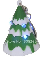 freeshipping! Wholesale Christmas gifts of key light. Voice LED the Christmas tree/Shine key