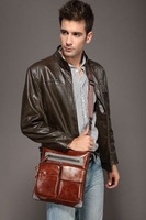 NEW  Men Briefcase Leather Messenger  shoulder bag handbags  MS-01