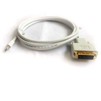 Free shipping! 1pcs 6ft 1.8m Mini DP DisplayPort Display Port To DVI (24+1) cable M/M,Mini DP to DVI cable