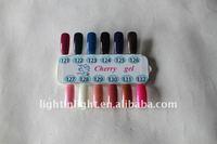 Wholesale free shipping Nail LED UV Color Gel LK-GEL-11 ,Nail polish(LED UV Color gel)