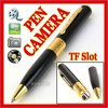 Pen Camera Hidden Digital Video Recorder Surveillance DVR DV Camcorder 720*480 26fps with TF card slot- FREE SHIPPING