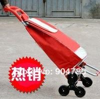 Free shipping Fashion 6/six idler gyro roller wheels wheeled shopping cart shopping trolley Shopping Bags/Bag