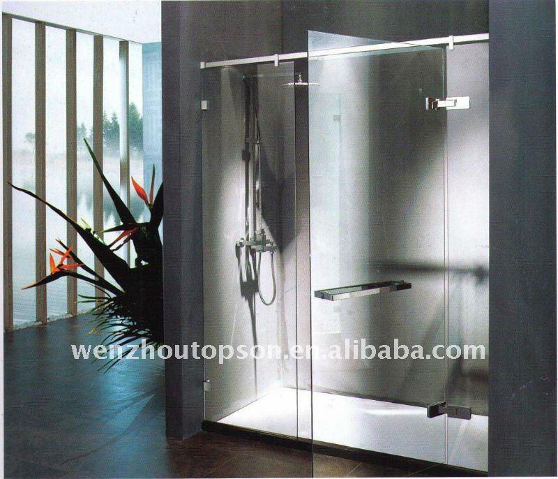 Free shipping+Pivot shower door&Hinged shower door full set hardware(China (Mainland))