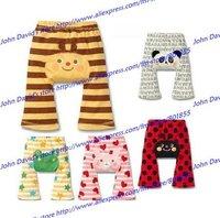 Wholesales New hot selling Animal design Baby pants PP pants 100% Cotton Baby legging Free shipping (15pc/lot)