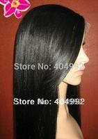 100% human hair wig Guarantee light yaki hair lace front wig