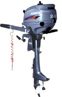 F2.5 HP - 4 stroke outboard motor,DHL/EMS Free-factroy outlet