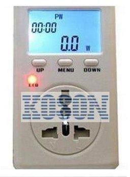 FREE SHIPPING 5PCS Voltage Meter Monitor UK Plug Energy WATT Power Test Tester 15A 240V High Quality KS2006