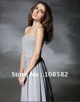 Свадебное платье Stunning Ball Gown Strapless Chapel Train Satin Pick-up Wedding Dress