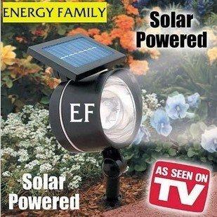 Wholesale Solar lawn lamp high brightness light 4LED solar spotlight solar lawn light