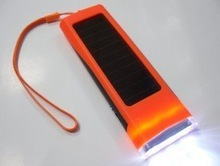 Free shipping Solar Flashlight Solar Powered 3 LED Solar Torch For Camping Torch(China (Mainland))