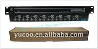 (YK-TG8-16) 8 Input 16 Output BNC CCTV Camera video distribution system