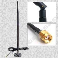 12dbi WiFi Magnetic Base Omni Antenna Aerial SMA 2.4GHz
