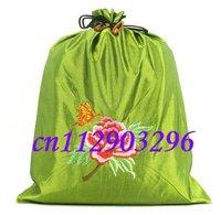 "Free shipping! WHOLESALE 50 pcs Brocade String POUCH ""36x28"" Shoe bag"