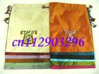 job lots 30pcs CHINESE HANDMADE CLOTH EMBROIDERY SILK SHOE BAGS