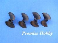 2 blade fiber reinforced nylon propeller prop set diameter 38mm, 40mm, 45mm, 47mm