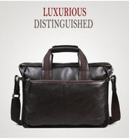 Free shipping.man geniune lether bag.fashion handbag.best briefcase