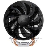 Wholesale CPU Cooler 2 copper heatpipes with 12cm quite fan suitable for LGA1155/LGA1156/LGA775& FM1/AM3/AM2/AM2+/940+/939+/754