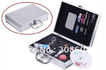 Freeshipping Professional False Eyelashes Eye Lash Extension Set Kit Case Gife Eye Hair Cleaner Special Make-up Product
