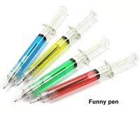 New syringe pen/Ball pen/ Fashion pen wholesale 500pcs/lot Free Shipping