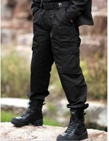 Free shipping 2011 mens outdoor senior fabric by teflon processing overalls waterproof black grid pants