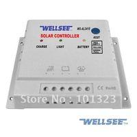 ce rohs wholesale 15A 12/24V solar lighting controller
