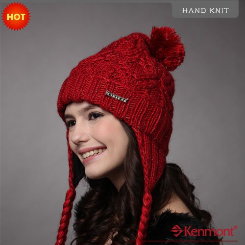 Knitted Earflap Hat Pattern : Popular Hand Knit Beanies Aliexpress
