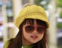 Free shipping/New design knitting cap Autumn & Winter,children hats,girl cap wholesale and retail, Christmas gifts!