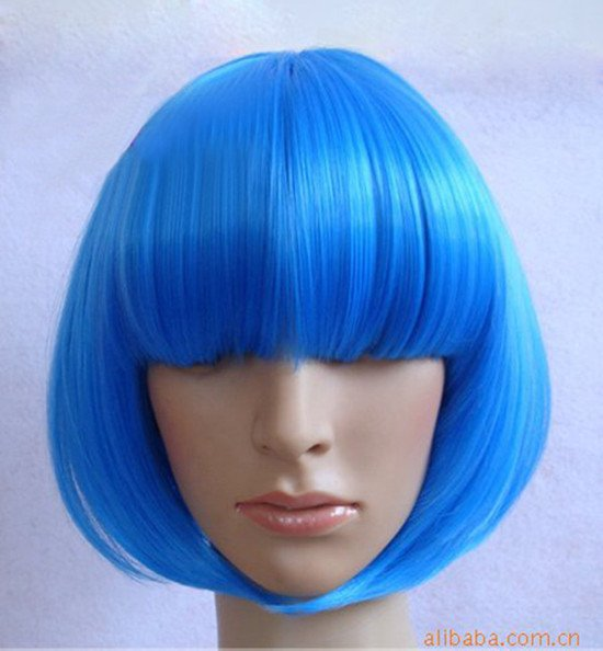 Wholesale-Retail-Cosplay-Wig-Short-Strai