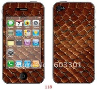 For iPhone 4S skin, for iPhone 4S sticker, for iPhone 4 S protector, 10pcs/design, 200pcs/order, retail packing free shipping