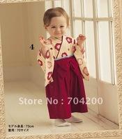 6 sets/lot-cherry blossoms SUKURA Japan style Baby kimono