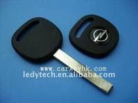 Good quality Opel car key blank with flat blade