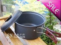 Free shiping Camping Cookware Hiking Backpacking Cooking Pot Cookout pot