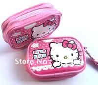 120pcs Hello Kitty purse cell phone pouches camera bag purse Free Shipping